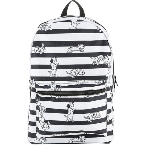 538020069f0 Disney 101 Dalmatians Pups Stripe Backpack Hot Topic ( 35) ❤ liked on Polyvore  featuring