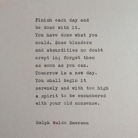 Ralph Waldo Emerson Quote / Typewriter Quote / by WhiteCellarDoor, $10.00