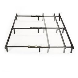 Compack Adjustable Steel Bed Frame Twin Full Queen Sleep