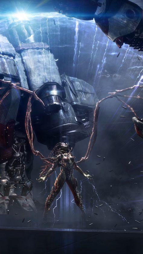 Video game, Sarah kerrigan, StarCraft: Remastered, 720x1280 wallpaper