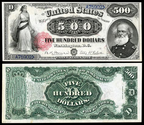 Reproduction $50 United States Note 1869 Henry Clay Legal Tender US Currency