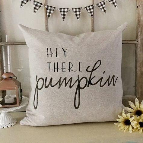 Pumpkin Pillow Cover Fall Pillow Case