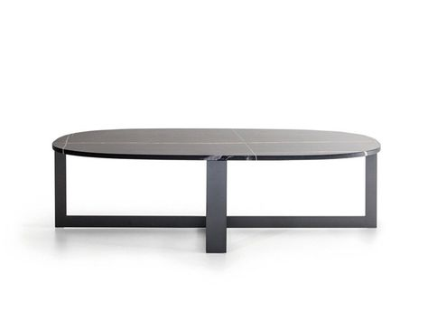 Domino Next 茶几 By Molteni Stone Coffee Table Next Side