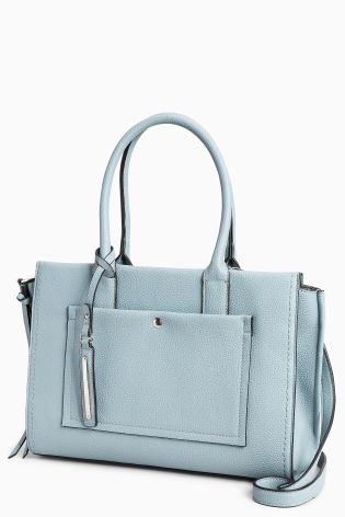b88b6a9e3da5d3 Buy Pale Blue Tote Bag from the Next UK online shop | 여성라인 ...