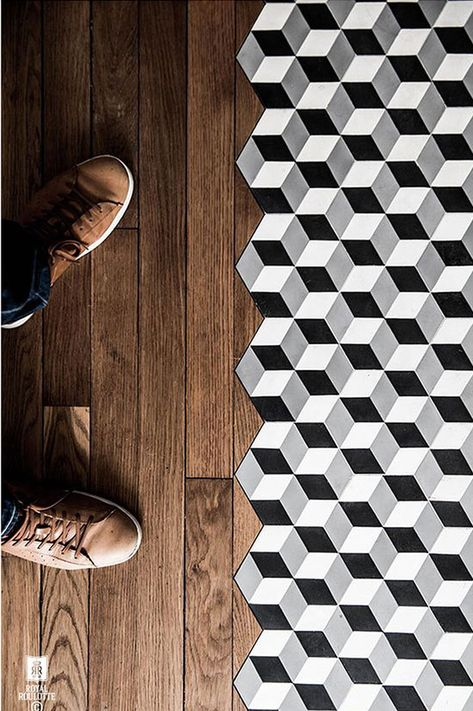 Inspiration | See gorgeous cement tile designs in a variety of spaces.