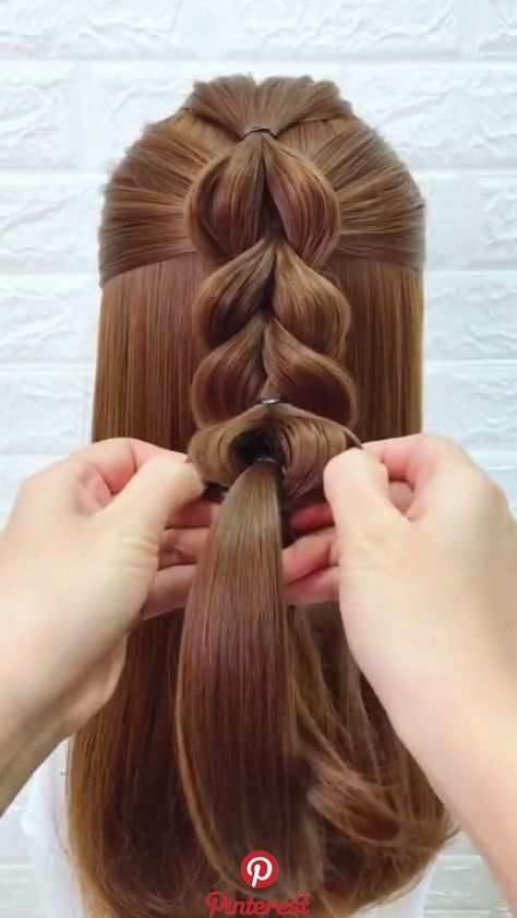 hairstyle_biing's short video with ♬ original sound – hairstyle_biing styles coiffure amour mode femmes - DiyForYou