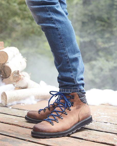 Sorel Madson Major Buffalo Waterproof Leather Hiker Boot