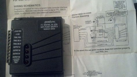 Sale 27 95 Phd Input Set Point Module 9800 01 0400 In 2021 Phd Point Personalized Items