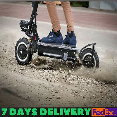 56mph Offroad Electric Scooter 3200w 60v Two Wheel 11in Folding 25ah Battery Electric Scooter Folding Electric Scooter Kids Bicycle