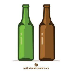 Publicdomainvectors Org Beer Bottles Beer Bottle Bottle Beer