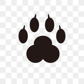 Black Bear Paw Paw Clipart Hand Painted Black Png And Vector With Transparent Background For Free Download Paw Background Paw Cartoon Bear Paws