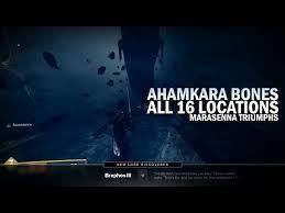 Destiny 2 All 16 Ahamkara Bone Locations Guide - Marasenna
