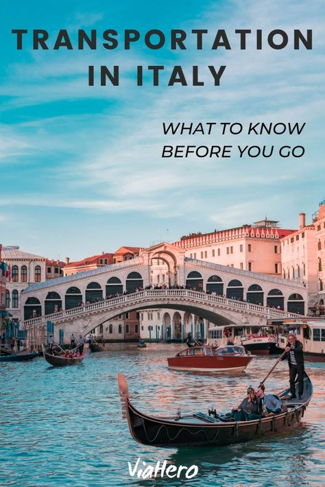 Transportation in Italy: What to Know