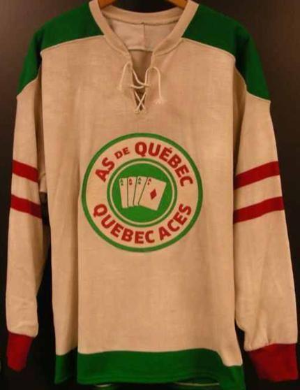 556f56278 Quebec Aces vintage hockey jersey