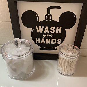 Disney Mickey Soap Home Decor Mickey Home Disney   Etsy Disney Kitchen Decor, Disney Home Decor, Disney Dining, Disney Crafts, Disney At Home, Disney Wall Decor, Halloween Bathroom, Christmas Bathroom Decor, Disney Sign