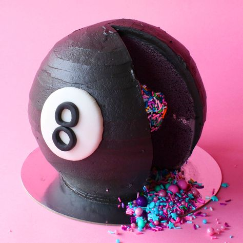 Is this cake delicious? Magic 8 Ball says... Without a doubt.