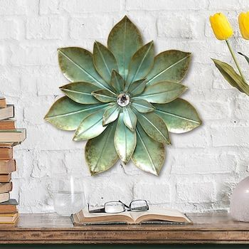 Stratton Home Decor Embellished Flower Wall Decor Kohls In 2020 Flower Wall Decor Metal Flower Wall Art Metal Flower Wall Decor