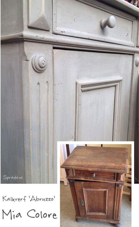 oude kast verven - google'da ara   old&new   upcycled furniture, diy