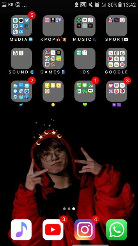 Home Screen Organization Iphone Aesthetic 32 Super Ideas In 2020 Homescreen Iphone Whats On My Iphone Organize Phone Apps