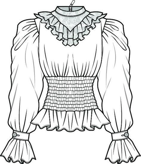 Fashion Illustration Patterns   -