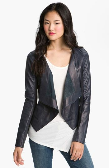 A Love Affair With Eyeliner: Fashion Trend: Leather Jackets