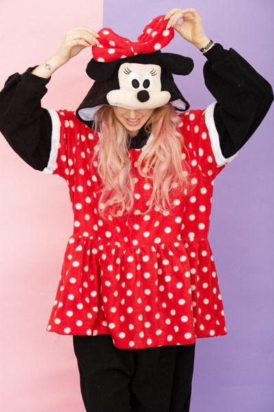 6b6a48512c42 Minnie Mouse Costume Onesie