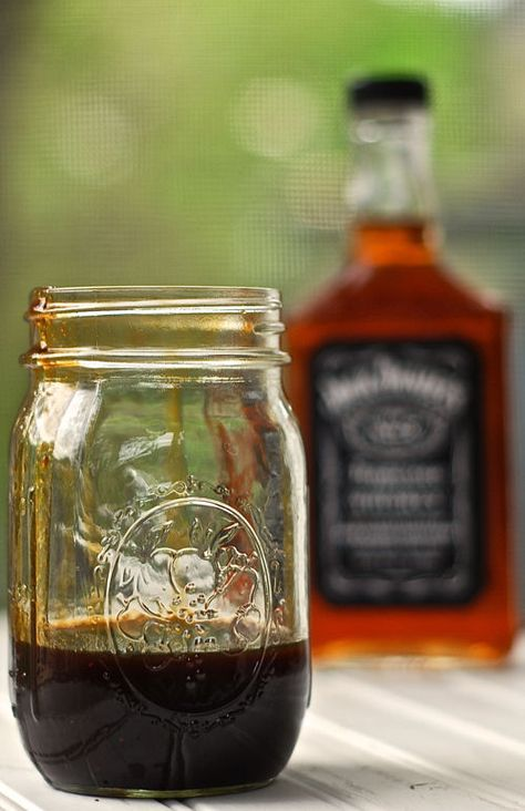 Jack Daniel's Glaze Recipe ~ This is that stuff you enjoyed at TGI Friday's…only BETTER. This is great on steak, chicken, shrimp and burgers!