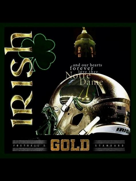 And our hearts forever love thee Notre Dame!