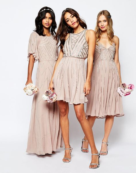 Affordable Sequin Bridesmaid Dresses!