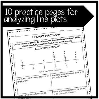 Line Plots With Fractions 4th Grade Distance By Raising Scholars Teachers Pay Teachers In 2020 Fractions Distance Learning Plot Activities