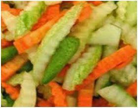 Resep Acar Wortel Resep Resep Masakan Indonesia Makanan Vegan