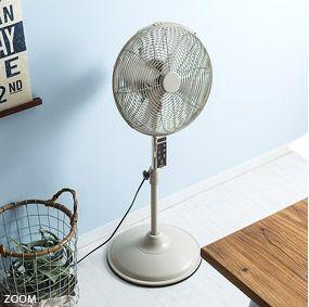 おしゃれな扇風機 ファン メタルリビングファン 公式 北欧インテリア 家具の通販エア リゾーム リビング ファン 扇風機 リビング