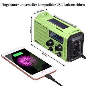 Noaa Notfall Radio Kurbelradio Solarradio Wetterradio Amazon De Elektronik In 2020 Radios Baustellenradio Mobiltelefon