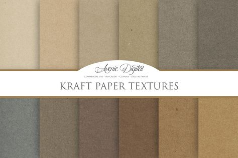 Kraft Paper Background Textures Paper Texture Paper Background