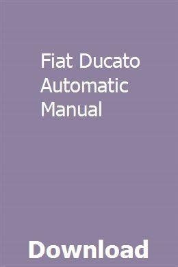 Fiat Ducato Automatic Manual Manual Car Kia Sorento Sorento