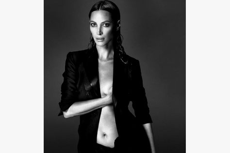 Naomi Campbell, Daria Werbowy and Amber Valletta Go Nude for 'Interview Magazine'