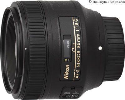 Nikon 85mm F 1 8g Af S Nikkor Lens Nikon Lens F 1