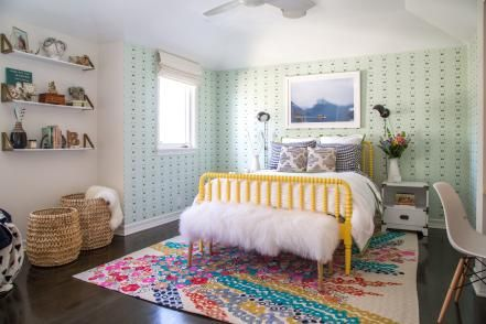 A teen girl needs a bedroom retreat that expresses her maturing style. Browse through these chic spaces for some vibrant design inspiration.