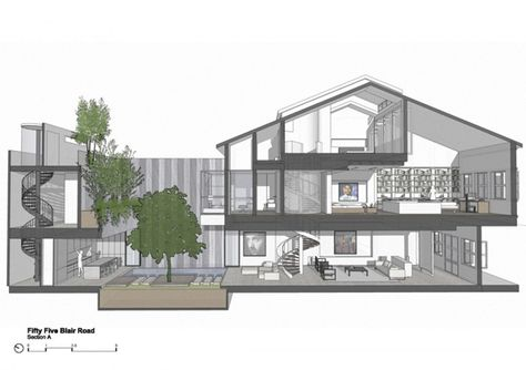 Restoration of an Art Deco style house