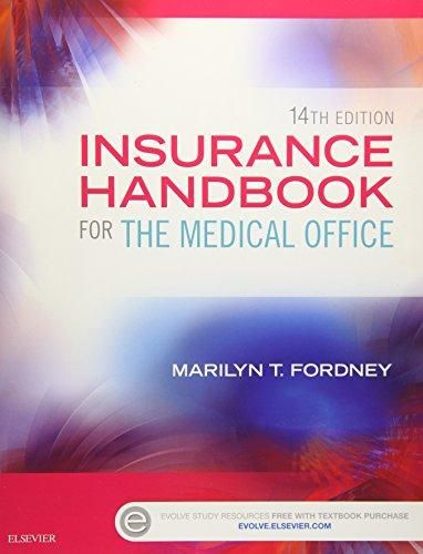 Pdf Download Insurance Handbook For The Medical Office 14e Ebook
