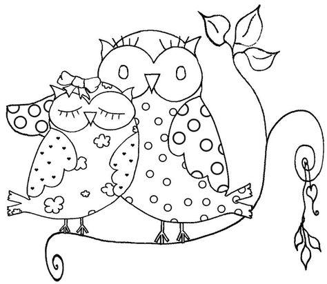 Baykus Baykuskalibi Kaliplar Boyama Burung Hantu Burung Gambar