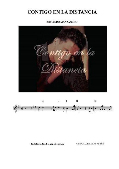 Contigo En La Distancia Luis Miguel Contigo En La Distancia Guitarra Partituras Partituras