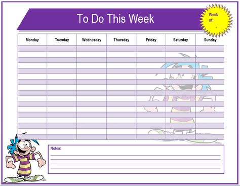 10+ To Do List Templates Word, Excel  PDF Templates www