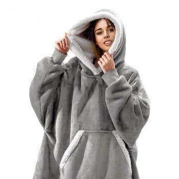 Federi Oversized Wearable Hoodie Blanket In 2020 Hoodies Oversize Hoodie Oversized Hoodie Sweatshirts