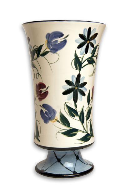 gail pittman annabella vase utensil holder P is For Pretty Pottery