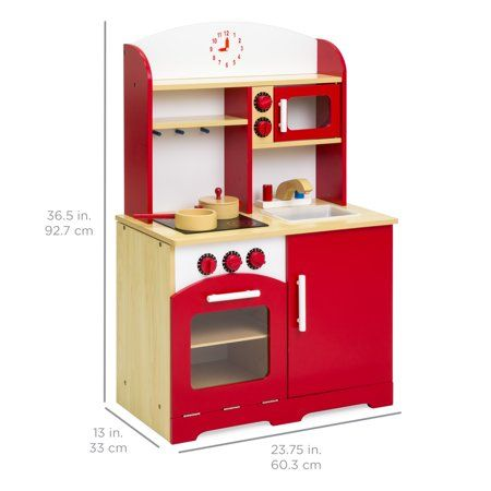 Toys With Images Kids Wooden Kitchen Wooden Kitchen Diy Kids