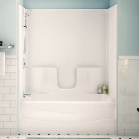 Maax Ts3060 60 White Tub Shower Unit Right Drain Sku 8016725