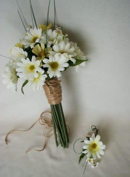 Mazzo Di Fiori Margherite.Daisy Bouquet Margherite Bouquet Matrimonio