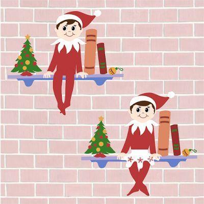 Krafty Nook Elf On The Shelf Fan Art Free Svg Christmas Svg Files Free Silhouette Diy Disney Scrapbook