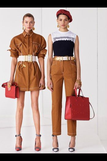 Versace Resort 2019 Fashion Show Collection: See the complete Versace Resort 2019 collection. Look 3